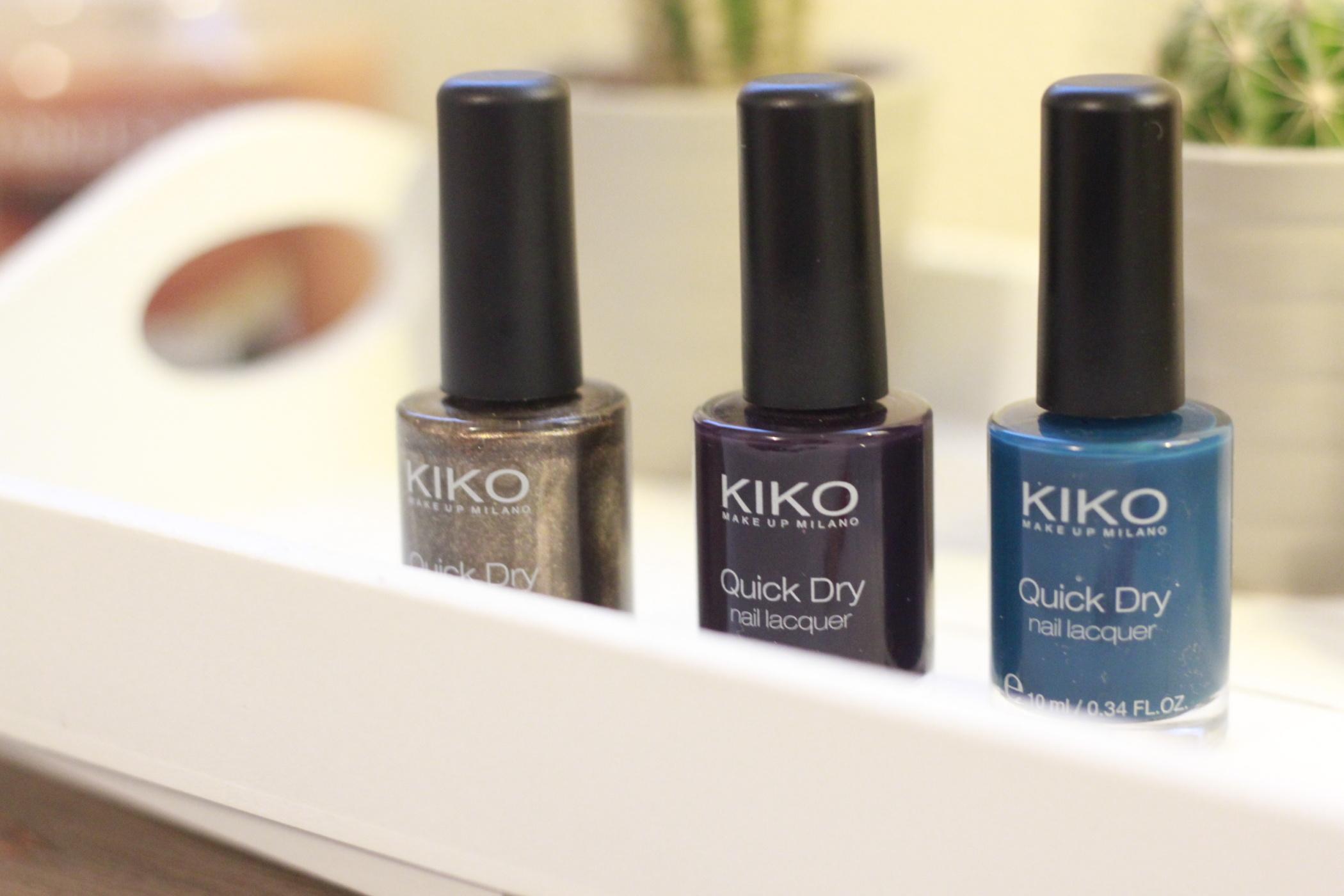 Revue sur les QuickDry • Kiko