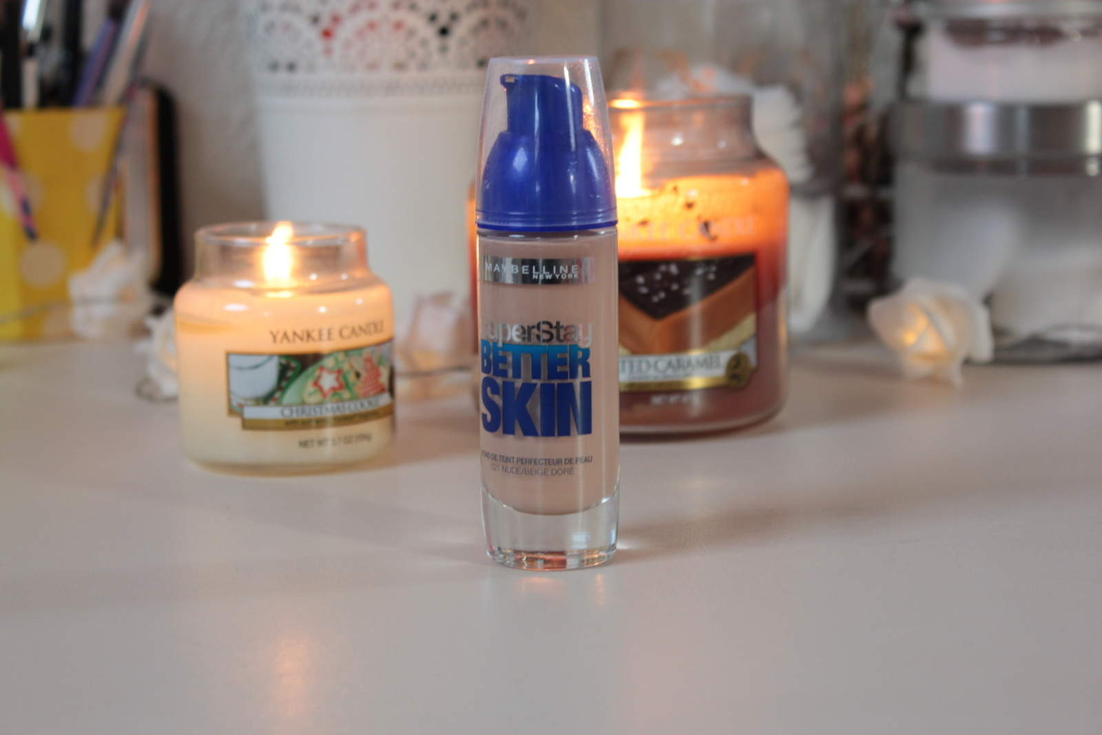 Revue FDT • Super Stay Better Skin - Gemey Maybelline ♡