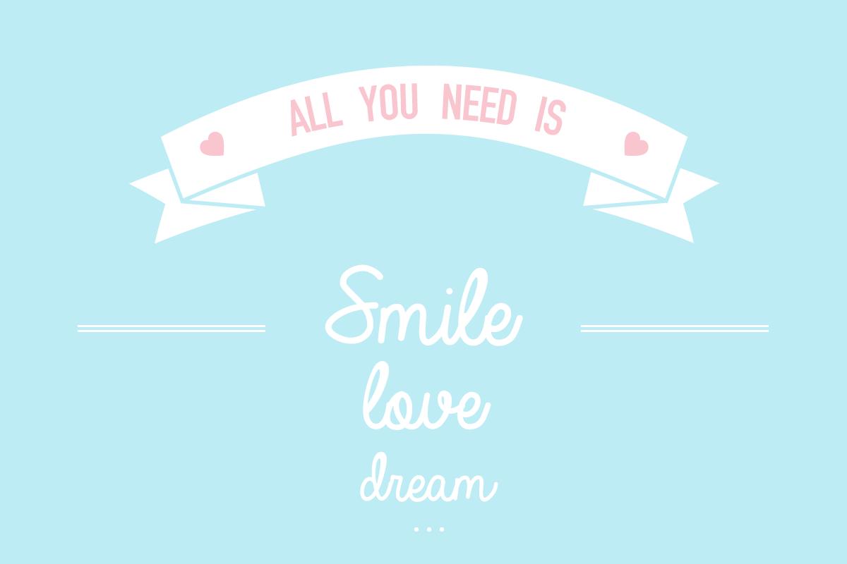 Du sourire et de l'amour sur vos écrans ❤