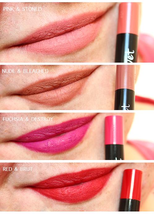 Lip & Kiss Velvet (mattes) - Réserve Naturelle