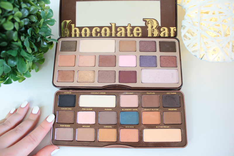 Semi sweet Chocolate bar - Too Faced (Tutoriel + Swatch) ♥