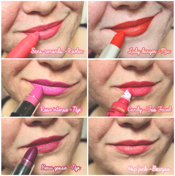 Mes rouges à lèvres de printemps sont de sortie ♥
