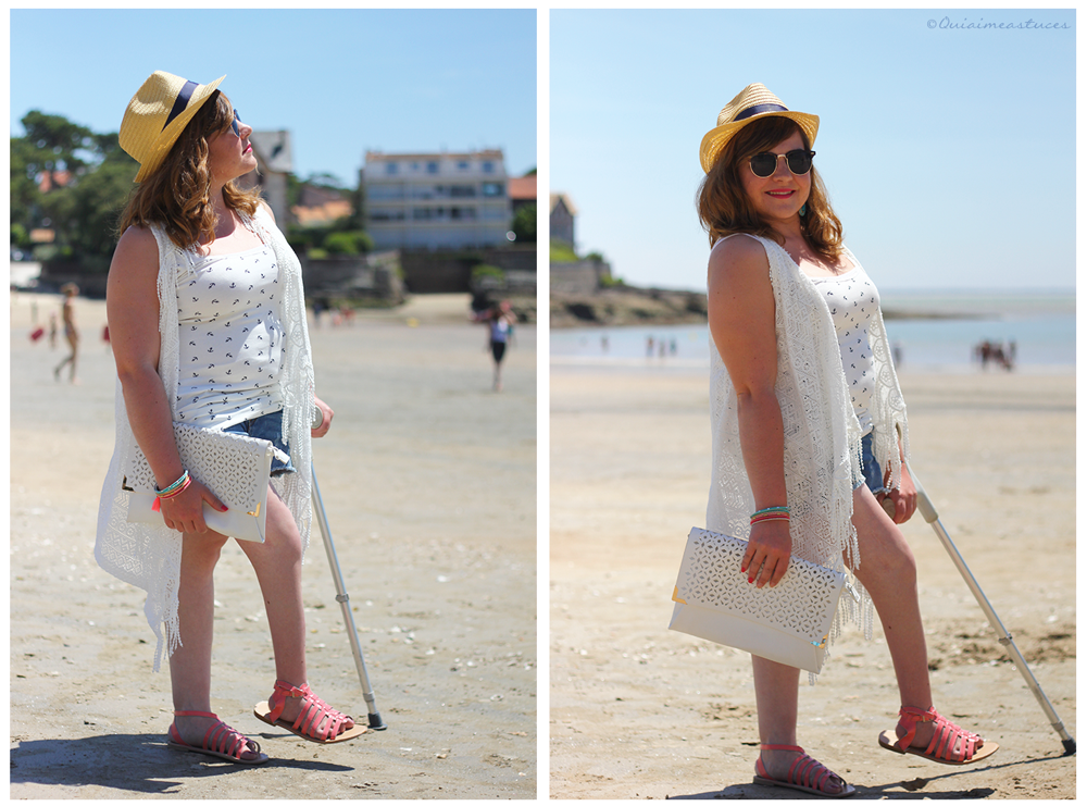 Beachy look l Look de plage ♥