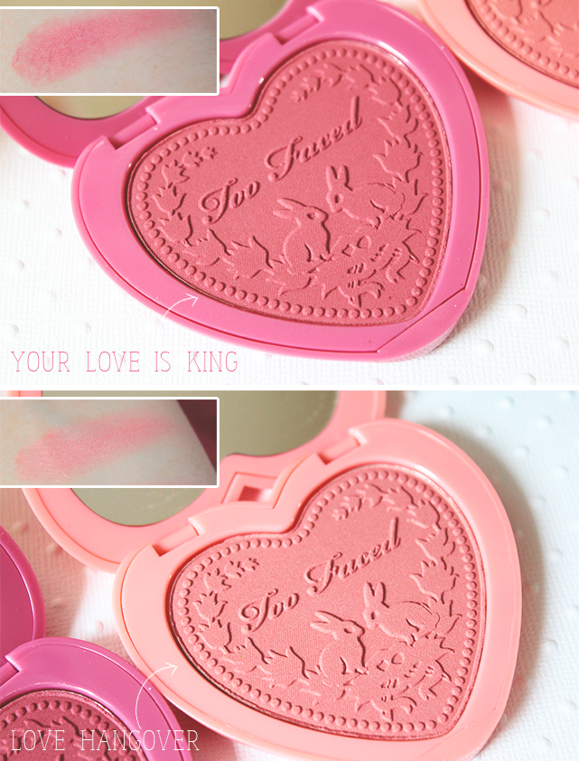 "Revue ""Love Flush blush"" by Too Faced ♥"