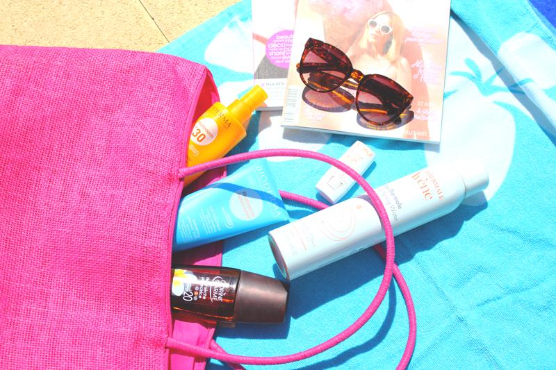 Dans mon sac de plage l Beach bag 2015 ♥