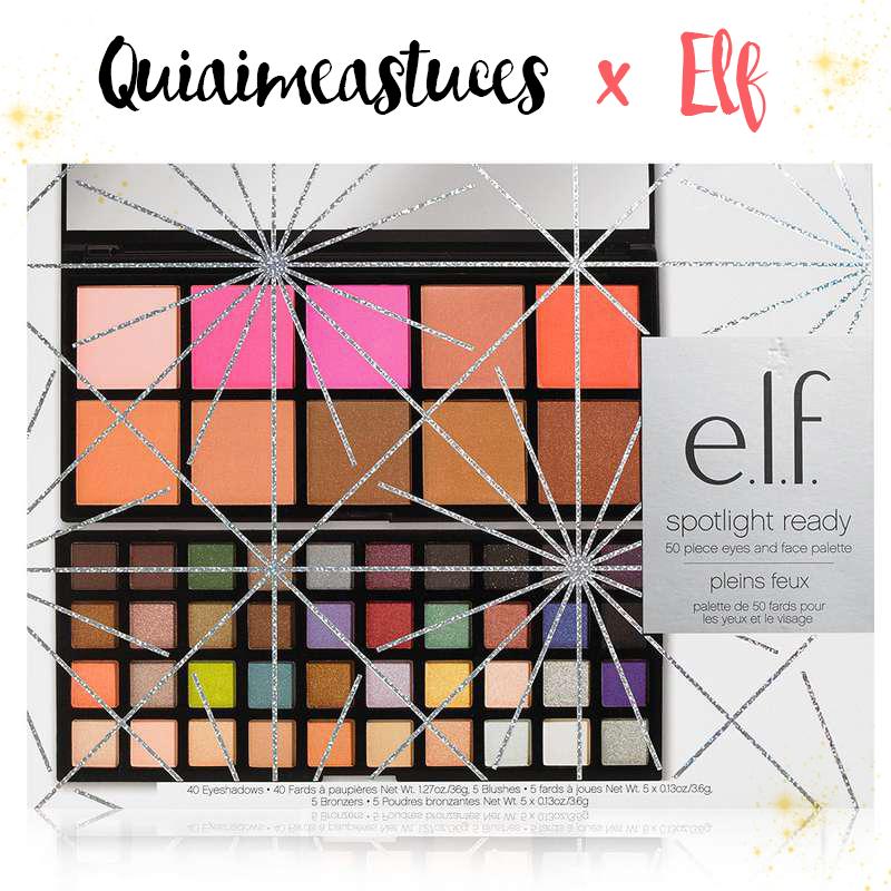 Revue + concours ELF (nouveautés Noël) ♥