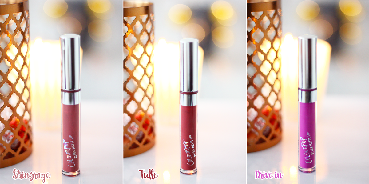 Revue l ColourPop ♥