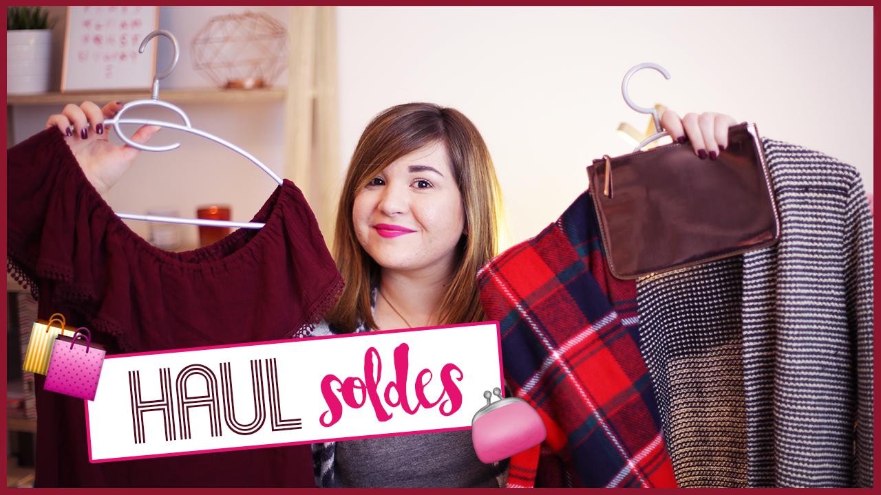 Haul — Mes soldes d'hiver (vidéo)