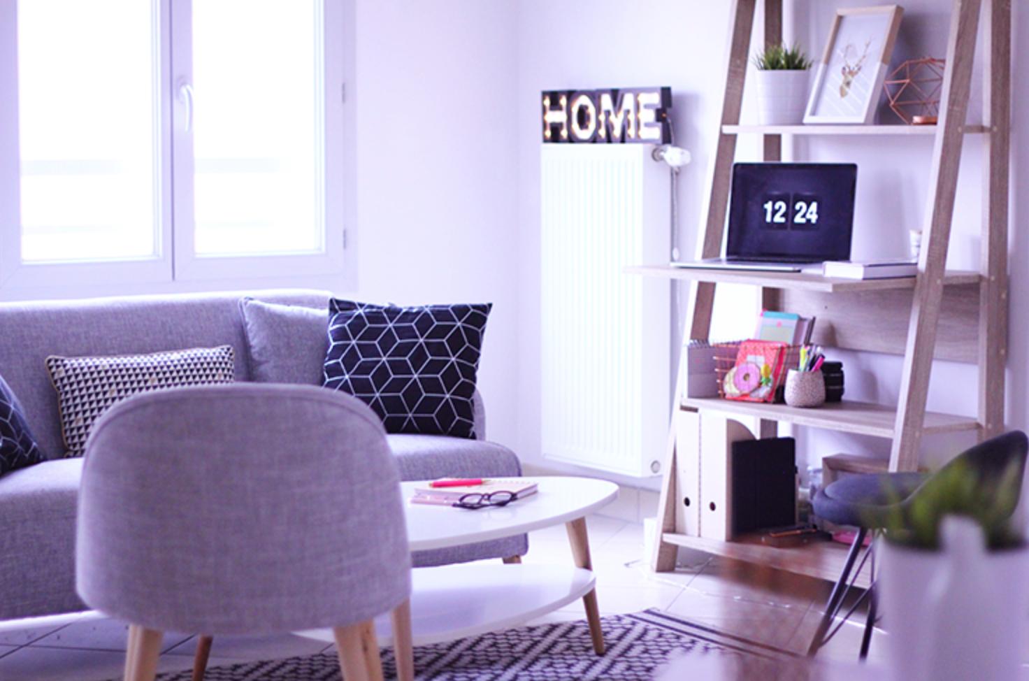 d coration mon petit chez moi salon cuisine quiaimeastuces. Black Bedroom Furniture Sets. Home Design Ideas