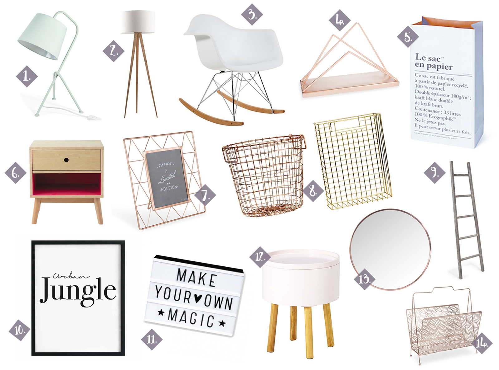 Wishlist décoration ♥