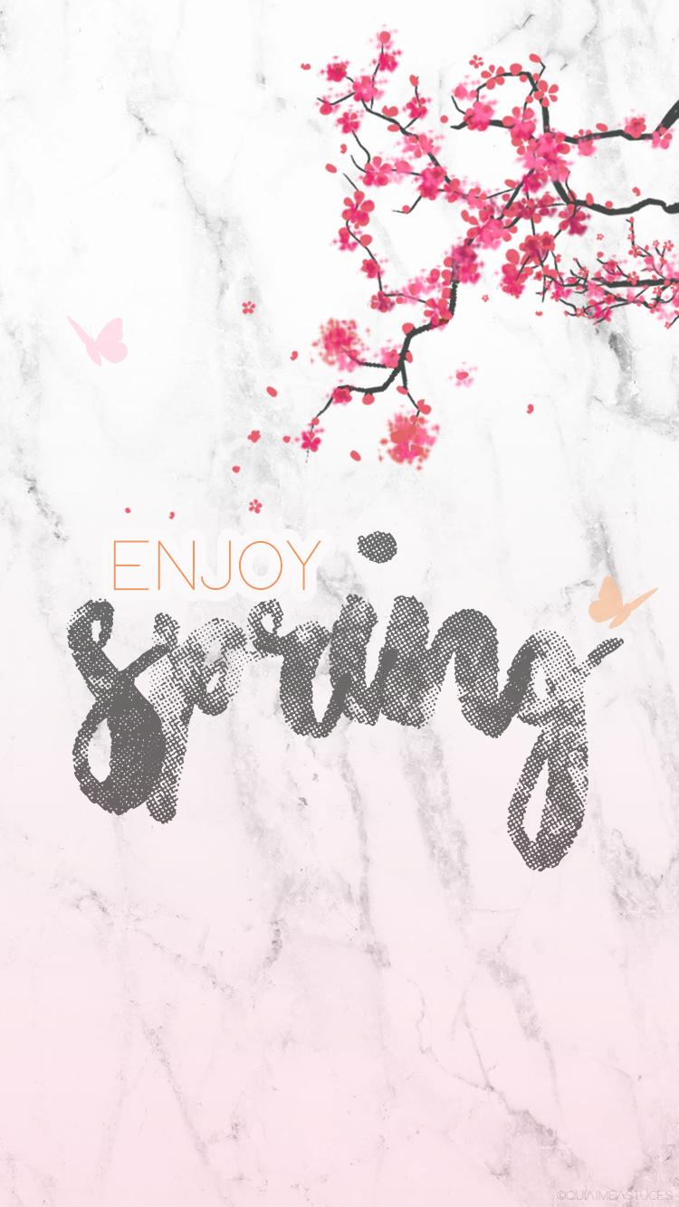 Fond d'écran — Le printemps est là !