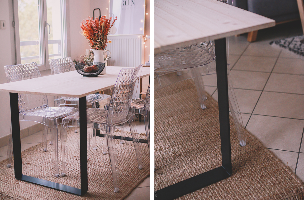 Ripaton Pieds De Table diy réaliser sa table à manger soi-même & découverte de ripaton