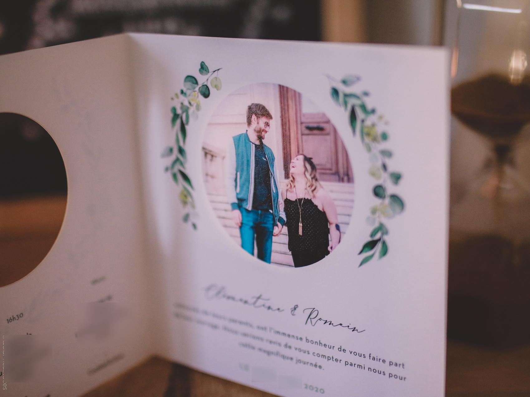 mariage fairepart popcarte