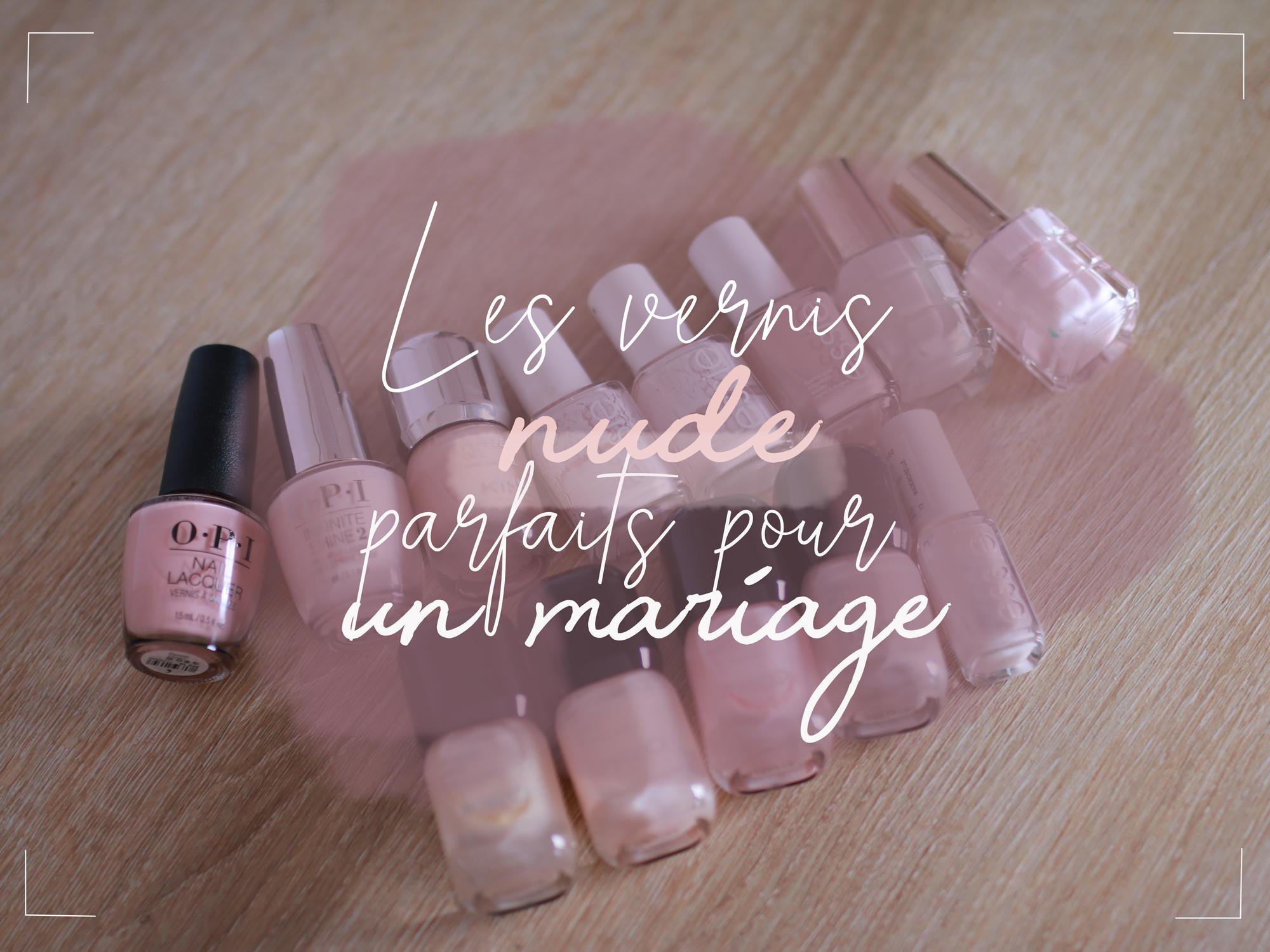 vernis mariage pastel