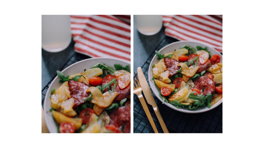recette salade pommes de terre chorizo